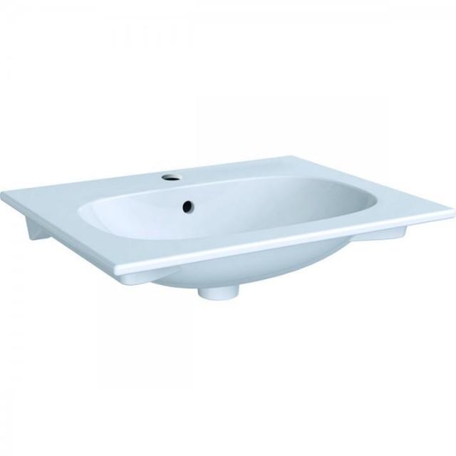 Lavoar pe mobilier Geberit Acanto 60x48xH17 cm