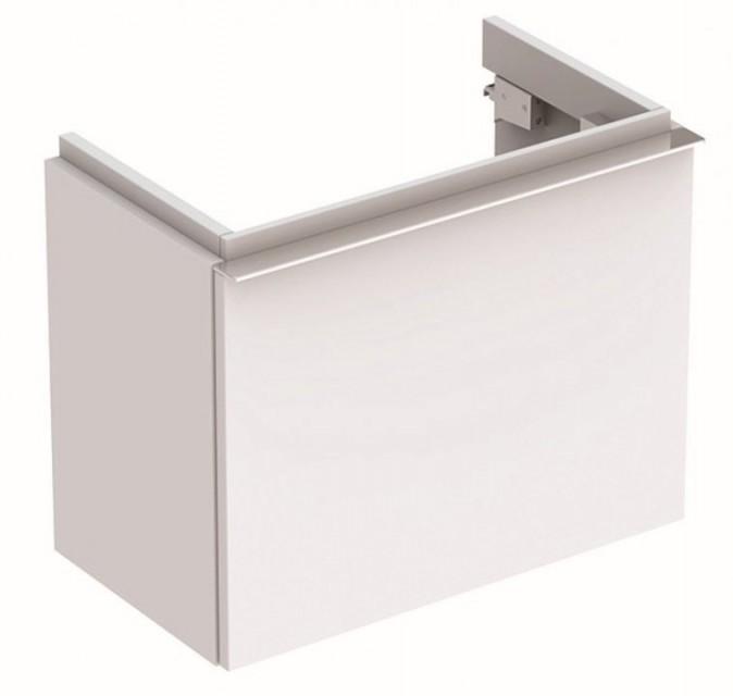 Mobilier Geberit iCon alb mat cu sertar pentru lavoar