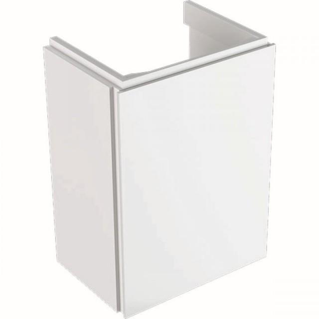 Mobilier Geberit Xeno² alb lucios pentru lavoar cu usa
