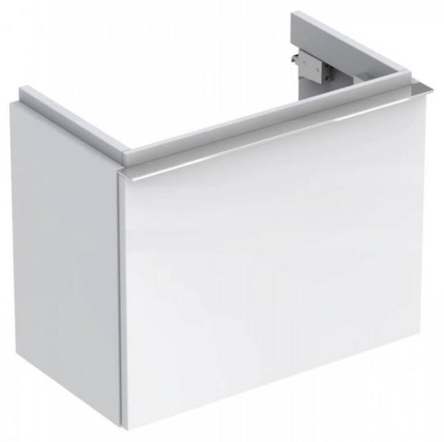 Mobilier Geberit iCon alb lucios cu sertar pentru lavoar