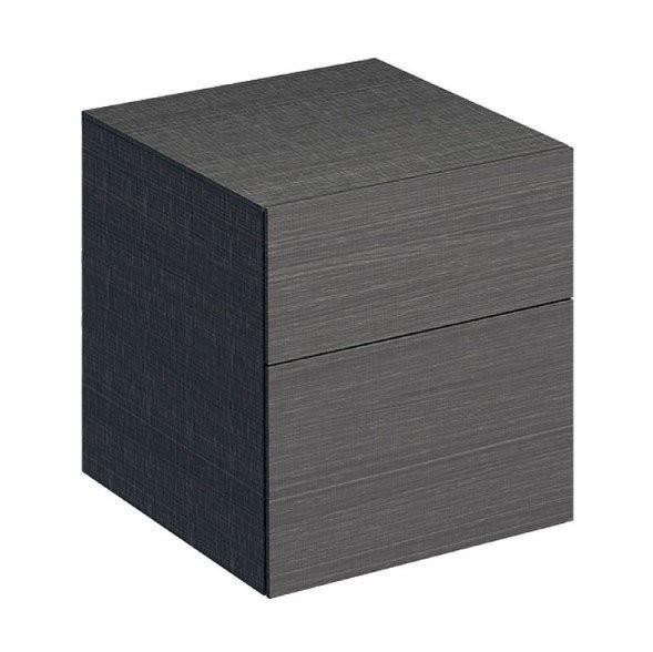 Mobilier Geberit Xeno² gri pentru lavoar cu usa