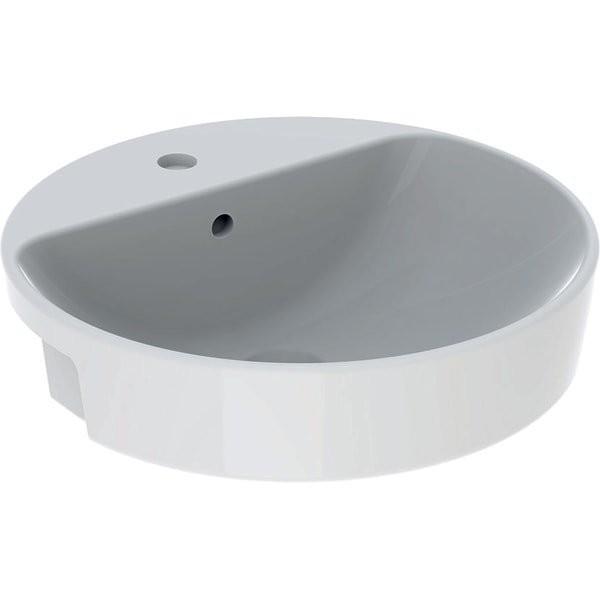 Lavoar semi-incastrat Geberit Variform Ø 50 cm