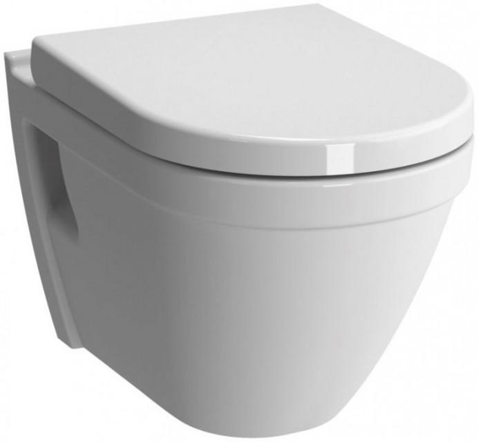 Set WC suspendat Vitra S50 54, cu functie de bideu si capac cu inchidere lenta