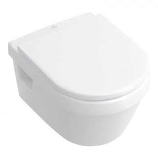 Set PROMO Villeroy&Boch Architectura vas WC Rimless Direct Flush si capac Soft Close 48x35xH34 cm