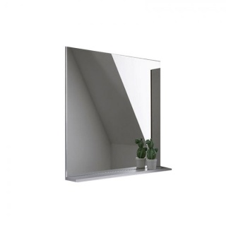 Oglinda cu etajera Kolpasan Evelin 65xH70 cm gri