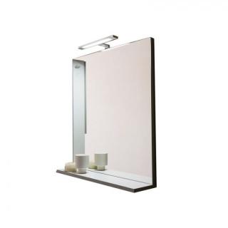 Oglinda cu etajera Kolpasan Lana 80xH70 cm gri