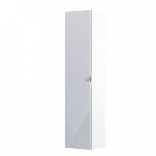 Dulap Oristo Siena inalt suspendat 40x17xH160 cm 1 usa SoftClose alb lucios imagine