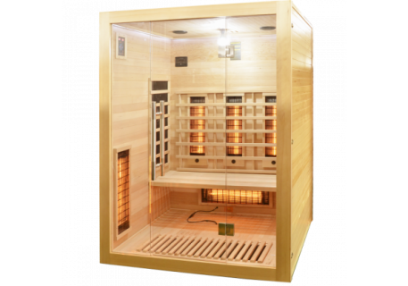 Sauna Sanotechnik Open brad canadian 150x120xH200 cm cromoterapie