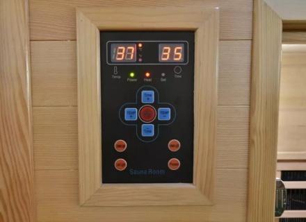 Sauna Sanotechnik Fresh brad canadian 120x105x195 cm LED Starlight