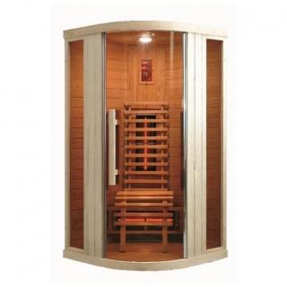 Sauna Sanotechnik Relax 1 brad canadian 100x100xH198 cm cromoterapie