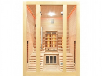 Sauna Sanotechnik Oslo brad canadian 150x150x200 LED Starlight