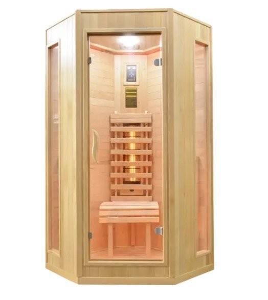 Sauna Sanotechnik Relax 2 cromoterapie, brad canadian 100x100x200 cm