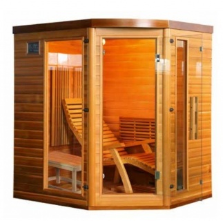 Sauna Sanotechnik Optimal brad canadian 174x138xH190 cm cromoterapie