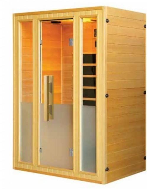 Sauna Sanotechnik Calipso brad canadian 142x107xH190 cm cromoterapie