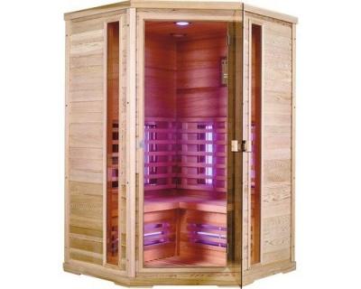 Sauna Sanotechnik Apollo brad canadian 130x130xH200 cm cromoterapie