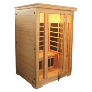 Sauna Sanotechnik Kombi brad canadian 124x116xH190 cm cromoterapie