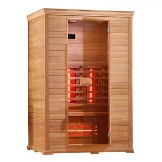 Sauna Sanotechnik Classico 1 cedru 130x100xH195 cm cromoterapie