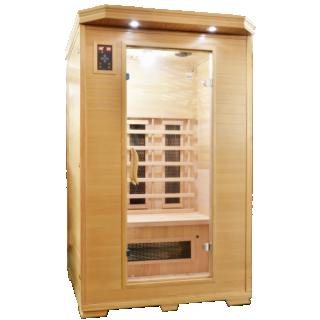 Sauna Sanotechnik Carmen 2 brad canadian 120x120xH195 cm cromoterapie