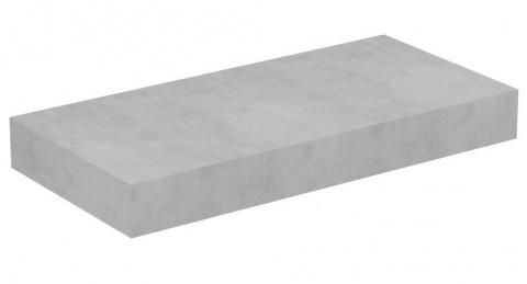 Blat Ideal Standard Adapto pentru lavoar 60x50,5xH12 cm gri pietris