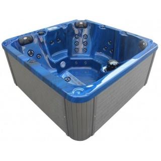 Minipiscina Sanotechnik Palma 190x190xH86 cm albastru