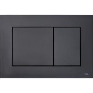 Clapeta de actionare Tece Now Dual-Flush, negru mat