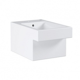 Bideu suspendat Grohe Cube Ceramic Pure Guard 56,5x38x40,5 cm imagine