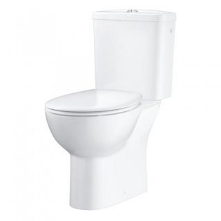 Set PROMO Vas WC Grohe Bau Ceramic Rimless,rezervor, si capac SoftClose 62x36xH72 cm