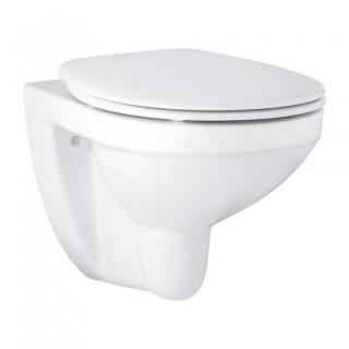 Set PROMO Vas WC suspendat Grohe Bau Ceramic si capac 53x37xH41 cm