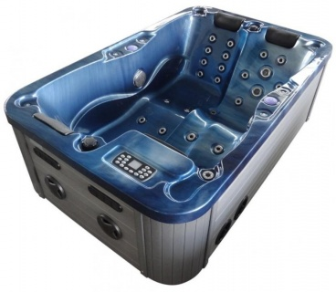 Minipiscina Sanotechnik Modena 205x130xH70 cm albastru imagine