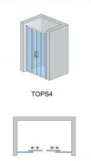 Super PROMO Usa de nisa culisanta SanSwiss Top-Line TOPS4 140xH190 cm