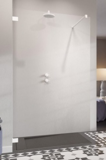 Cabina dus Walk-in Radaway Essenza Pro White 65x200 cm