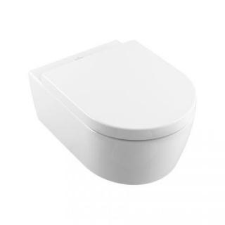 Set PROMO Villeroy&Boch Avento Vas WC suspendat si capac Softclose 56x37xH40 cm