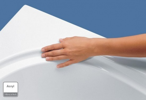 Cada Villeroy&Boch Architectura 170x75xH48 cm, acril, alb alpin