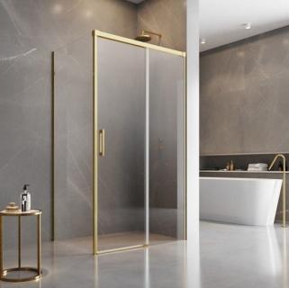 Cabina dus Radaway Idea Gold KDJ 100x75xH200 cm, usa dreapta