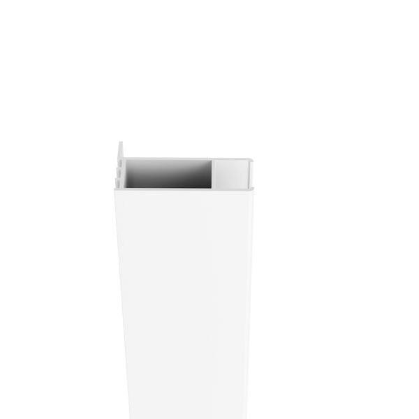 Profil de extindere cabina dus Ravak Chrome CNPS, alb