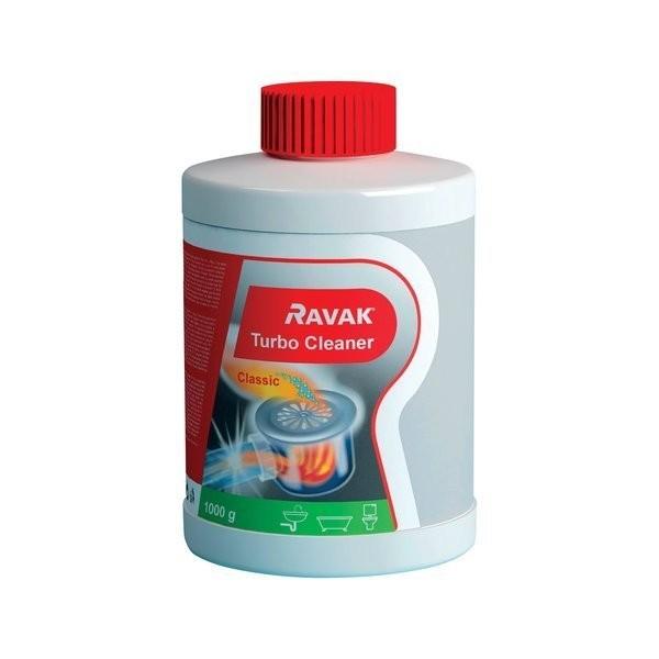 Solutie pentru desfundarea conductelor Ravak Turbo Cleaner
