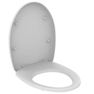 Capac wc Ideal Standard Vidima SevaDuo cu balamale din plastic