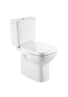 Set vas wc Roca Debba cu rezervor si capac, evacuare verticala